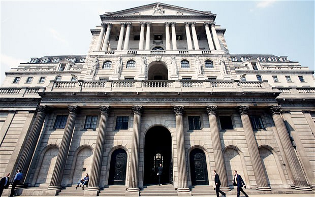Stock finance and lending figures for 2013 published by the Bank of England