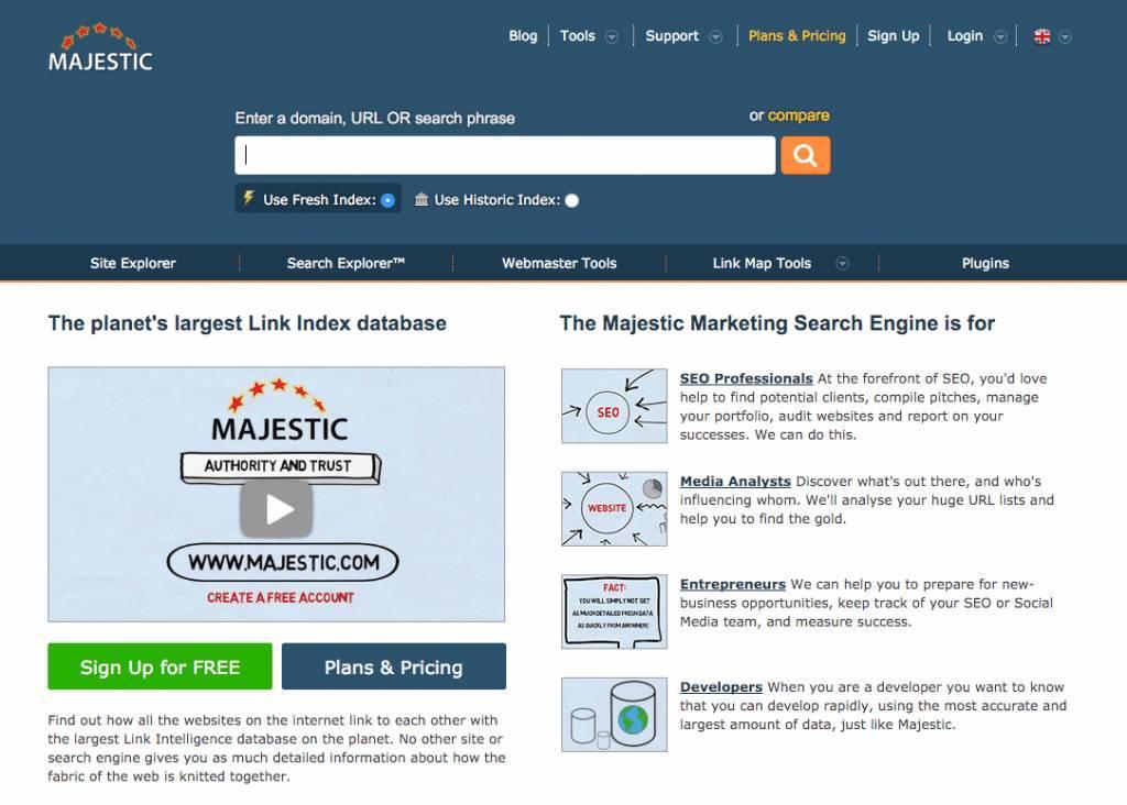 Award winning search analysis and SEO tool