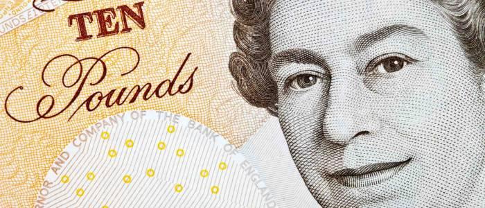 pound sterling declines