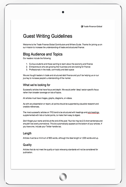 Guest Writing Guidelines