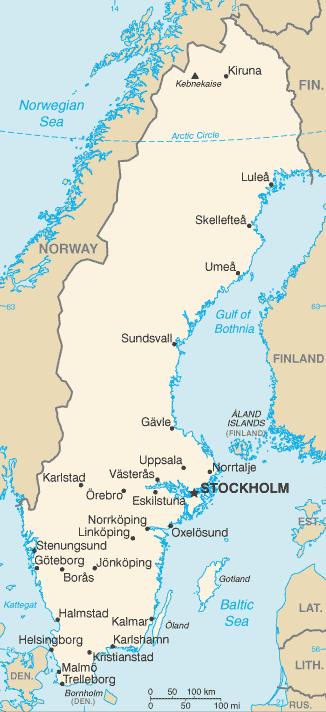 Sweden_Map